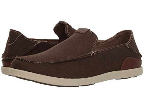 On OluKai Toffee Clay Slip Manoa ToffeeEspresso rr0wqE1xZ