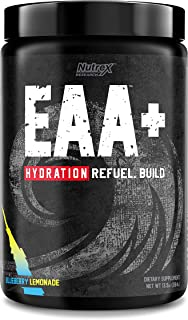 Nutrex Research EAA Hydration | Sports Recovery Drink Mix, Rebuild Muscle, Prevent Cramps & Soreness | 8 Grams of High Per...