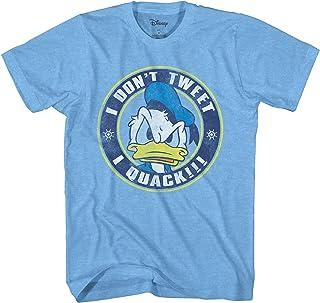 Disney Donald Duck Shirt Men's I Don't Tweet, I Quack T-Shirt