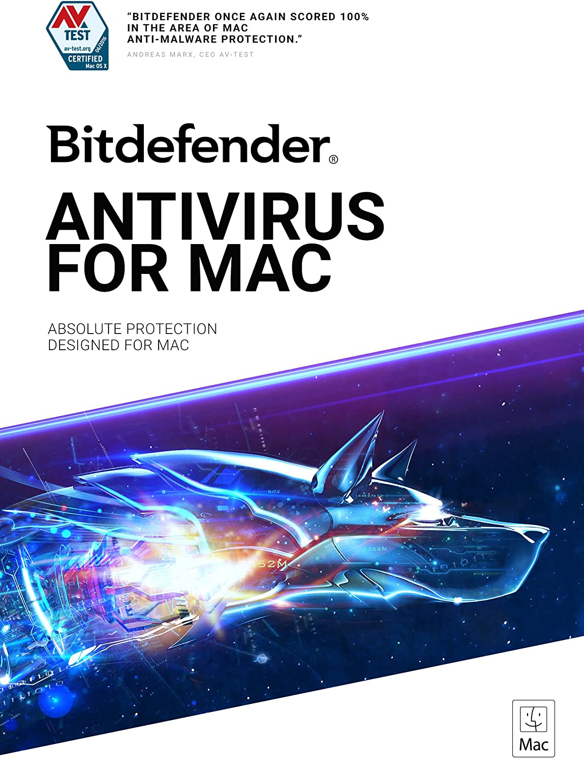Bitdefender Daily bargain sale Antivirus Year-end gift for Mac - Device year 1 Subscription