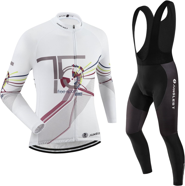 JNL Cycling Jersey Set Wen Long Popular brand S~5XL 3D pad Option:bib Sacramento Mall Sleeve