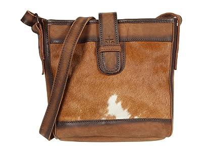 STS Ranchwear Cowhide Derby Bucket Bag (Cowhide/Tornado Brown) Handbags