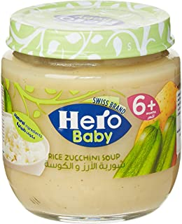 Hero Baby Rice Zucchini Soup, 120g
