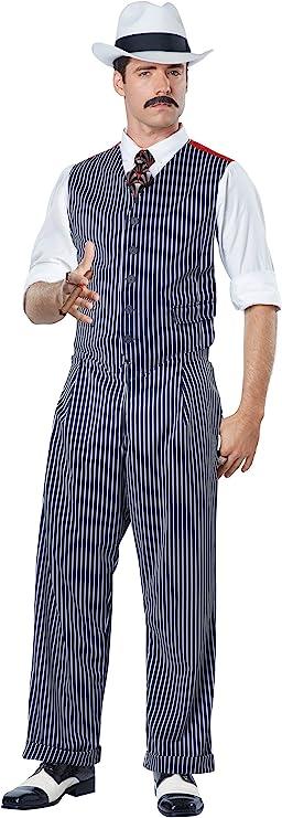 1930s Men's Fashion Guide- What Did Men Wear? California Costumes Mens Mobster Costume  AT vintagedancer.com
