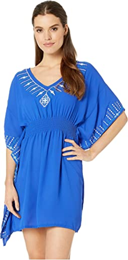 In Stitches Caftan Cover-Up