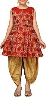 Kids Party Wear Patiala Suit for Girls