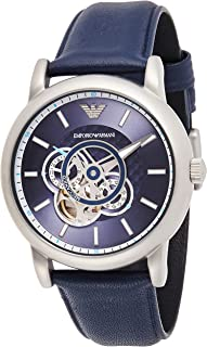 Emporio Armani Gents Wrist Watch, Blue AR60011