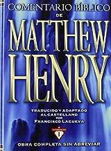 Comentario Biblico De Matthew Henry (Spanish Edition)