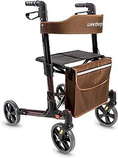 Weinberger Licht opklapbare aluminium rollator all-inclusive met tas wandelhouder remmen, lichtgewicht slechts 7,3 kg, in ...