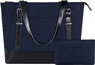 KROSER Laptop Tote Bag 15.6 Inch Large Shoulder Bag Lightweight Water-Repellent Women Stylish Handbag for Work/Business/Sc...