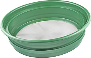 "SE GP2-1100 Patented Stackable 13-¼"" Sifting Pan, Mesh Size 1/100"