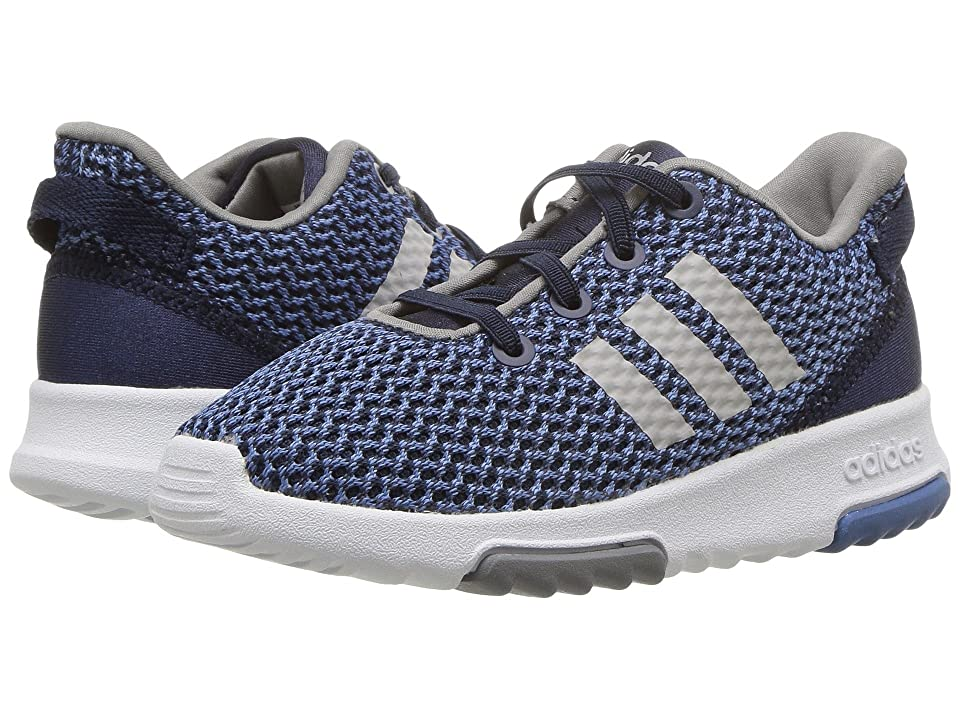 adidas Kids Cloudfoam Racer TR (Infant/Toddler) (Navy/Navy/Grey 2) Kids Shoes