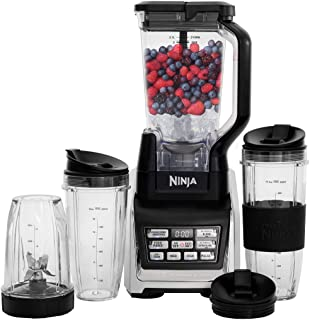 Nutri Ninja Personal and Countertop Blender with 1200-Watt Auto-iQ Base, 72-Ounce..