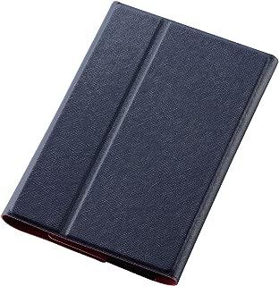 ELECOM YOGA Tab 3 8 手帳型ケース イタリアンレザー 薄型 ブルー TB-LEY38AWDTBU