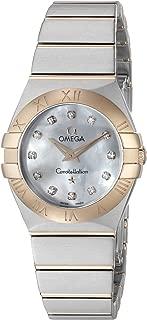 Women's 12320246055001 Constellation Analog Display Swiss Quartz Silver Watch