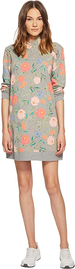 Kate Spade New York Athleisure Blossom Sweatshirt Dress