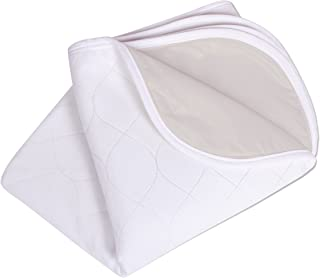 Carex Washable Waterproof Mattress Pad - Mattress Protector and Bed Pad - 34 Inch x 36 Inch