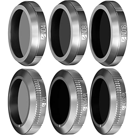 Freewell Budget Kit - 6Pack FW-M2Z-ESS ND4, ND8, ND16, CPL, ND32/PL, ND64/PL Filters Compatible with Mavic 2 Zoom
