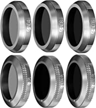 Freewell Budget Kit - 6Pack FW-M2Z-ESS ND4, ND8, ND16, CPL, ND32/PL, ND64/PL Filters Compatible with DJI Mavic 2 Zoom