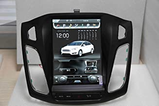 10.4 inch Quadcore Android 7.1 1280x800 Car Tesla Style Vertical Screen 2GB RAM 32GB ROM Bluetooth GPS Navigation for Ford Focus 2012-2017 DVD Player 3-7Business Days Shipping time