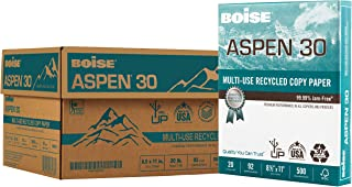 BOISE ASPEN 30% Recycled Multi-Use Copy Paper, 8.5