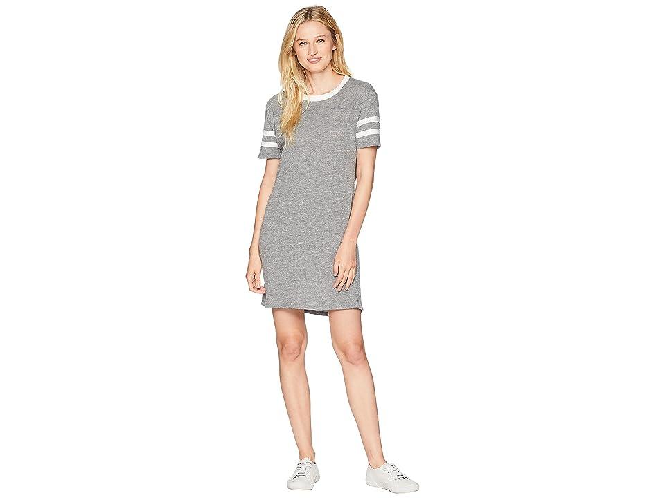 Alternative Eco Stadium T-Shirt Dress (Eco Grey) Women