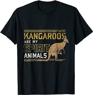 Kangaroo T-Shirt Spirit Animal Australia Outback