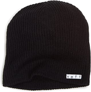 NEFF Men's Daily Beanie, Warm, Slouchy, Soft Headwear
