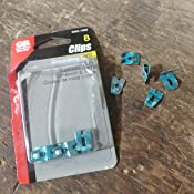 Bag of 50 ITT Holub Industries Grounding Clips For Aluminum /& Copper Ground Wire