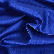 Satintyg Silke Tyg Kungsblått DIY Sömnad Klädtillverkning Hantverk Fotografi Bakgrund Bröllopsklänning Dekoration Pyjamas ...