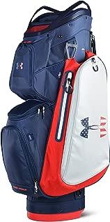 アンダーアーマー(アンダーアーマー) UA Storm Armada Cart Bag キャディバッグ 1317087 ADY/WHT (ネイビー×ホワイト/F/Men's)