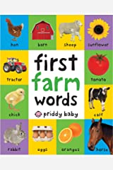 First 100 Padded: First Farm Words Kindle Edition