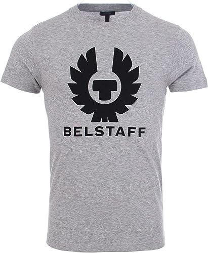 BELSTAFF Hommes cranstone Crew Neck t-Shirt gris