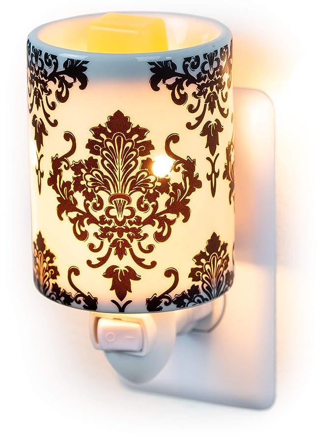 Dawhud Direct Plug-in Fragrance Wax Melt Warmers (Damask)