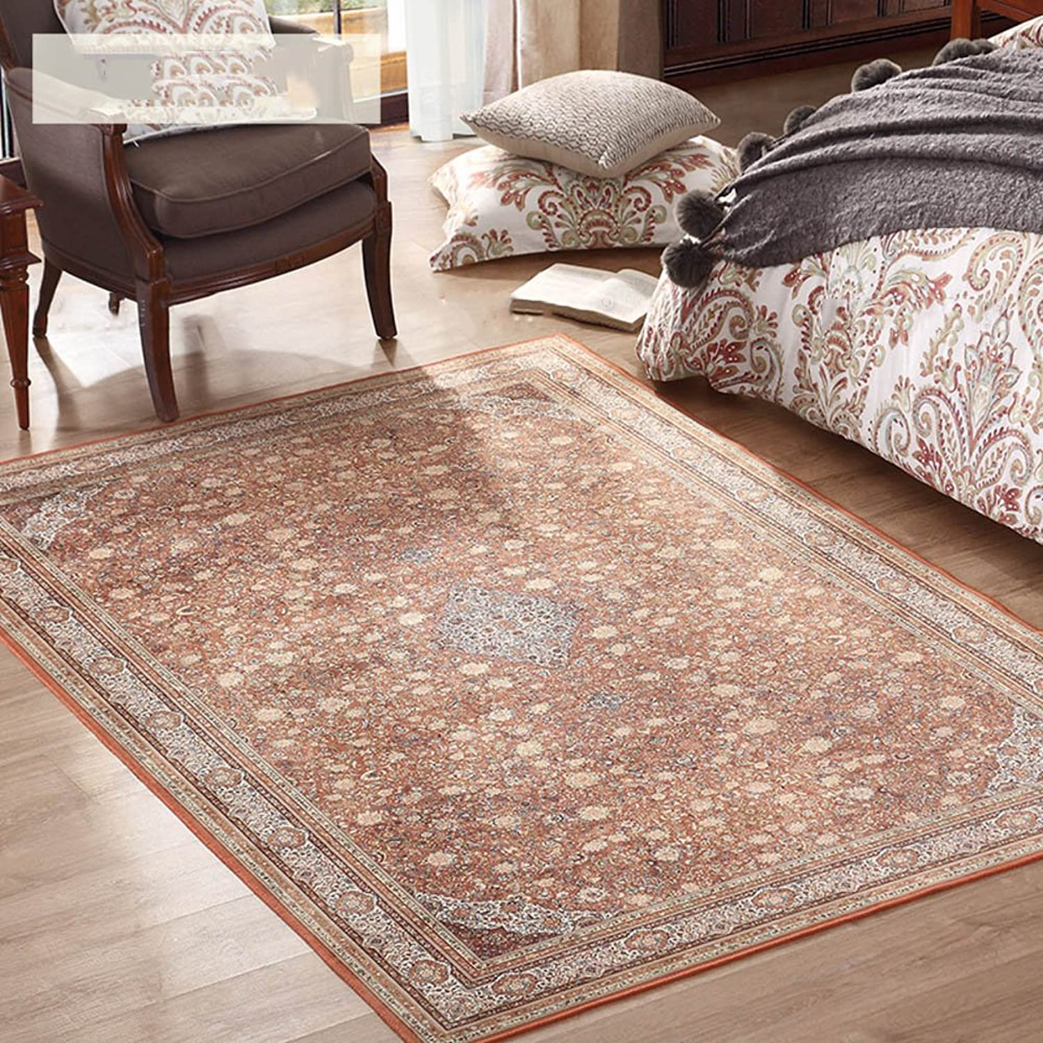 SE7VEN Living Room Pastoral Wind Carpet Office for The Vestibule Doors mat Bedside Carpets for Bedroom-E 80x125cm(31x49inch)