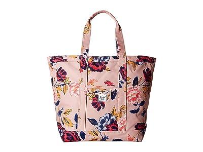 Herschel Supply Co. Bamfield Mid-Volume (Winter Flora) Tote Handbags