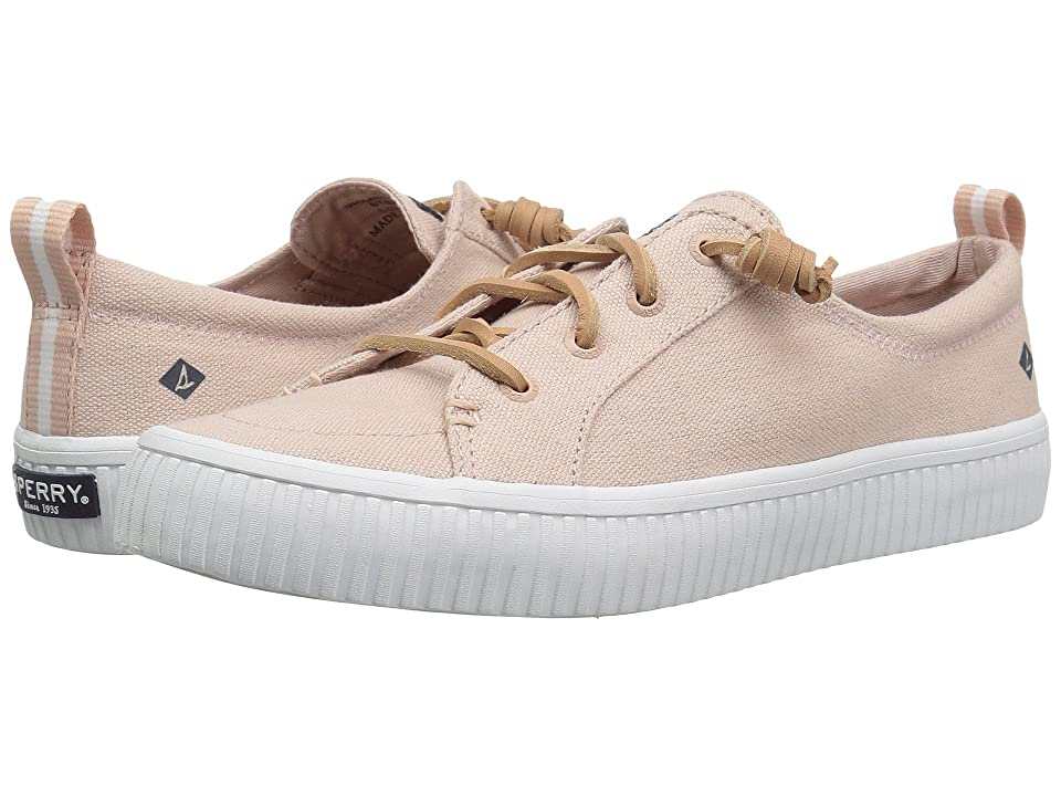 Sperry Crest Vibe Creeper Linen (Rose) Women