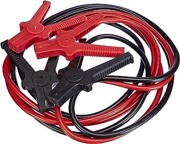 Einhell Câbles de démarrage BT-BO 25/1 A (Moteur essence jusqu'à 5 500 ccm,Puissance : 350 A, 4 pinces à batterie isolées selon norme DIN, Livré avec pochette de transport): image
