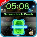 Fingerprint screen locker