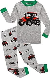 kids tractor pajamas