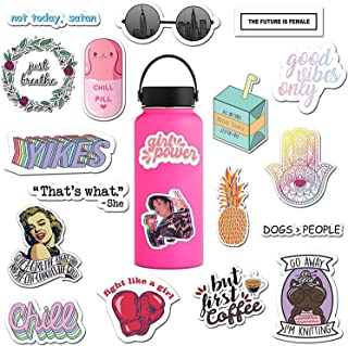 RipDesigns - 14 Feminist Stickers for Water Bottles, Laptops (Series 2)