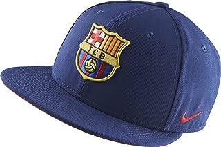Nike Barcelona Core Adjustable Flat-Brim Cap (Loyal Blue)