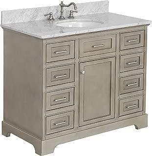 Best 42 inch bathroom vanity countertop Reviews
