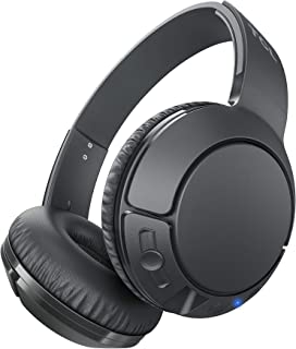 TCL MTRO200BT On-Ear Wireless Noise Isolating Headphones with Built-in Mic - Shadow Black
