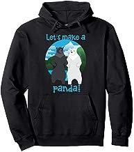 Let's Make A Panda   Cool In Love Bears Gift Pullover Hoodie