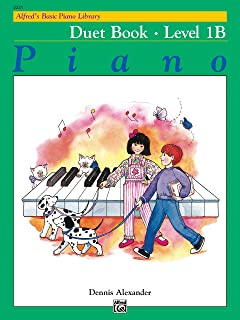 Alfred's Basic Piano Library: Duet Book, Level 1B