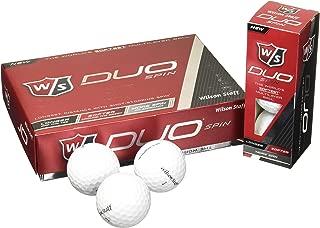 Wilson 2015 Staff Duo Spin Golf Balls- One DozenNew