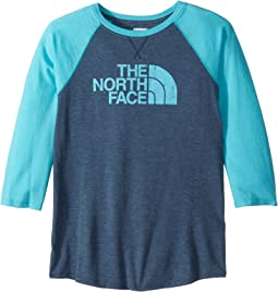 Tri-Blend 3/4 Sleeve Tee (Little Kids/Big Kids)