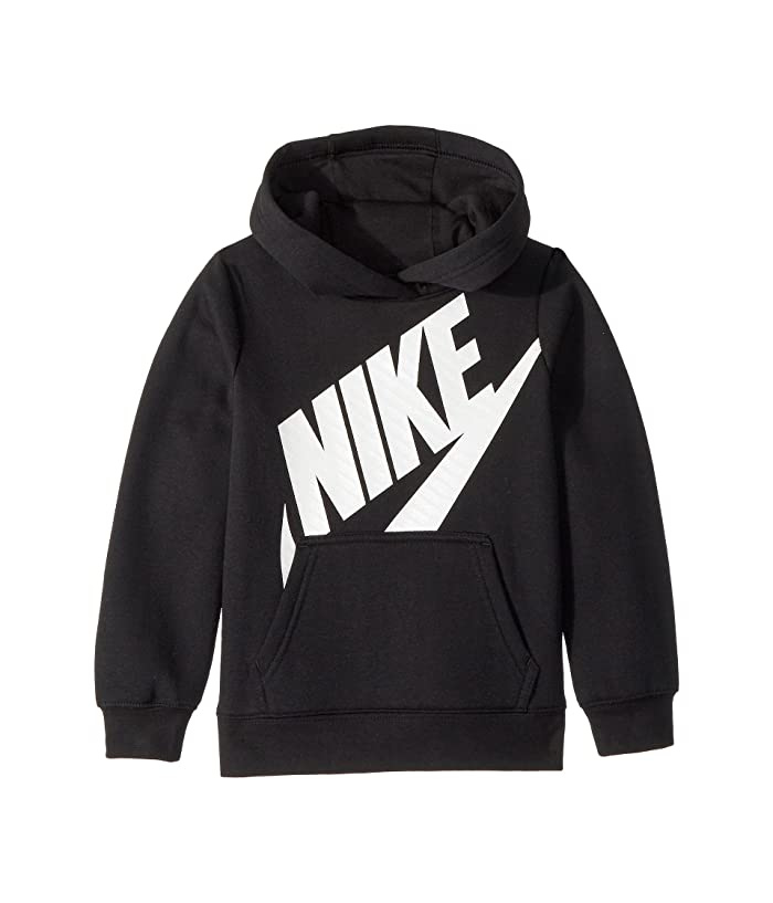 00f37776f Nike Kids Futura Fleece Pullover Hoodie (Little Kids) at Zappos.com