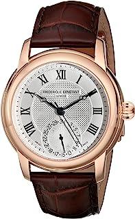 Frederique Constant - FC-710MC4H4 Maxime Reloj de Correa de Cuero marrón Oscuro para Hombre